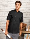Short Sleeve Chef´s Jacket Premier Workwear PR656